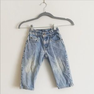 Little Levi toddler loose fit  jeans 2T